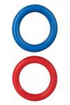 Hračka pes Krúžok guma 15cm TR 1ks