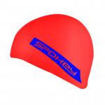 Spokey FREESTYLE Plavecká čepice silikonová červená