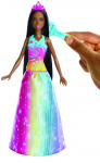 Barbie magické vlasy princezna brunetka