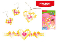 Mozaika vodní perly 300ks sada šperků plast 5x6mm Paulinda Super Beads