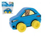 Moje první auto Sporťák velbloud modré pěna 10cm