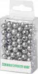 Dekorační perly - 8 mm (144 ks) stříbrné