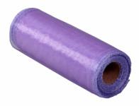Stuha ORGANZA obšitá fialová šírka 15cm dĺžka 9m