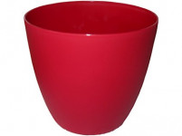 Obal Ella - matná červená 15 cm