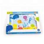 Children's wooden puzzle Viga Ocean - VÝPREDAJ