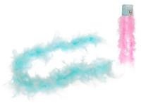 Boa péřové pro princezny 90 cm - mix barev