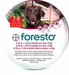 Foresto 4,50g+2,03g obojok pre psy nad 8kg obojok 1ks 70 cm