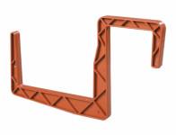 Držák truhlíku hranatý terakota 12cm 2ks