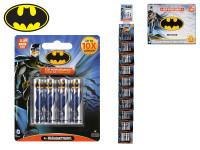 Batman baterie AA/LR6 Alkaline 4 ks na kartě 10 ks
