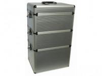 kufor na náradie Al 360x260x600mm ALUMATE + ABS PVC lišty