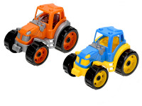 Traktor 25 cm - mix farieb