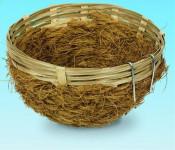 Hniezdo pre vtáky prútené Nobby 8 x 12 cm