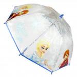 Deštník dětský Ledové království modro/bílý