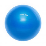 Spokey Fitball III gymnastický míč 55 cm včetně pumpičky modrý