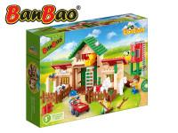BanBao stavebnice Eco Farm farma se silem 328 ks + 3 figurky ToBees
