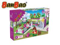 Stavebnice Banbao květinářství 252ks + 2 figurky