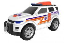 Temasterz záchranný jeep so zvukom a svetlom