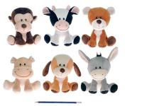 Zvířátko plyšové 15 cm - mix variant či barev
