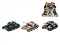 Tank kov 12cm na zpětné natažení - mix variant či barev