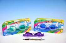 Plavecké brýle KIDS na kartě 20x11cm - mix barev
