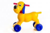 Odrážadlo pes plast výška sedadla 26cm nosnosť do 20kg