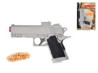 Pistole na kuličky plast 18cm s kuličkami