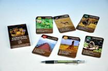 Kvarteto Afrika Safari společenská hra - karty 32 kartiček v krabičce 6x11cm