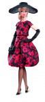 Barbie elegantní šaty z růží