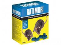 jed RATIMOR brodifacoum parafínové bloky 300g