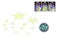 Hvězdy svítící ve tmě - mix variant či barev