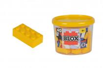 Blox 40 Kostičky žluté v boxu