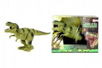 Dinosaurus chodiaci plast 22cm na batérie - mix farieb