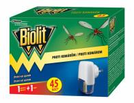 Odparovač BIOLIT elektrický proti komárom 45 nocí 27 ml