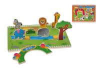 Hrací set zvířátka dřevěný 3D - mix variant či barev