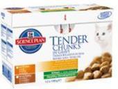 Hill 'Feline Kitten kaps.CH + Turkey -Multipack 12 x 85 g