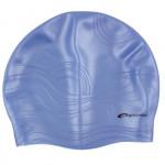 Spokey Shoal plavecká čiapka silikónová tmavo modrá