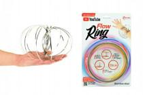 Flow Ring kovová špirála priemer 13cm na karte 16x24cm