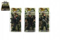 Vojak figúrka plast 10cm - mix variantov či farieb