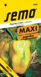 Semo Paprika zeleninová sladká F1 - Theos F1 rýchl 15s - séria Maxi