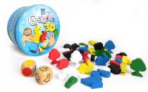 Grabolo 3D spoločenská hra drevo v plechovej krabičke STRAGOO