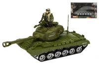 Tank 25 cm na zotrvačník s vojakom a príslušenstvom