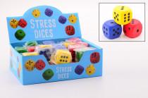 Hrací kostky pěnové malé