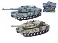 Tank 4x4 plast 18cm na setrvačník na baterie se světlem a zvukem - mix variant či barev