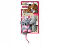 Hračka cat plyš Krysa s catnipom Kong 1 ks