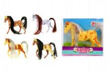 Kôň malý plast 10cm - mix farieb