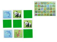 Pexeso ZOO 64 kariet ilustrovaná zvieratka