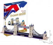 Puzzle 3D Tower Bridge - 120 dílků