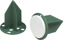 Oasis pini - na aranžovací hmotu zelený 3 cm s lepící podložkou