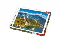 Puzzle Bled, Slovinsko 500 dielikov 48x34cm