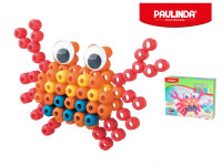 Paulinda Super Beads Jumbo 3D 10x8 mm 100 ks krab s doplňky